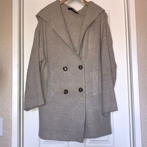 ZARA coat with hood